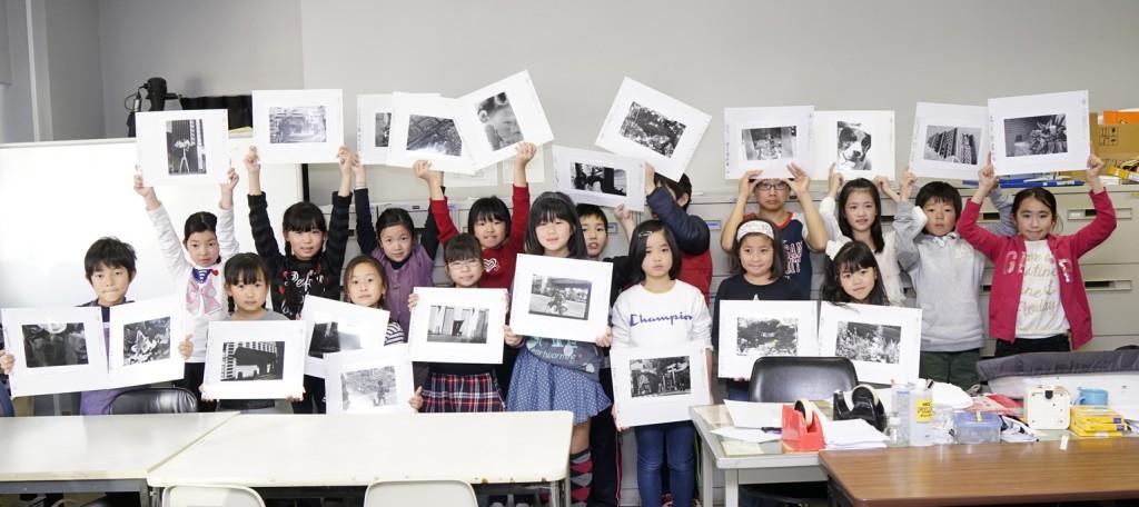 2016小学生のための写真教室  「親子で挑戦!モノクロ写真教室」